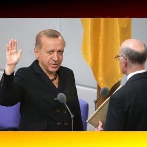 Montage: Erdogan wird als BK vereidigt